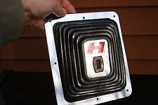 Hurst Shifter Large Big Super Boot H Red - Chrome