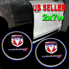 2x7w Ghost Shadow Laser Projector Logo LED Door Step Light Courtesy for Dodge