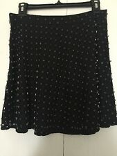 Michael Kors Studded Black Skirt, Size 8