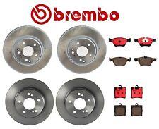 Front /& Rear Brembo Brake Pads Set Kit for Chrysler Crossfire Base Limited 04-08