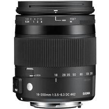 Zoom Sigma Manual DSLR Camera Lenses