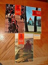 RCMP Quarterly Magazine 3x Vol36 1971 72 History Biographies Awards Nominal Roll
