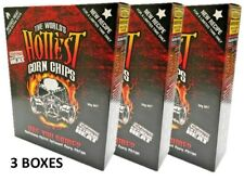 3 BOXES of The World's Hottest Corn Chips! SUPER XXX HOT! Chilli Seed Bank *NEW*