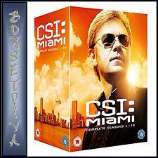 CSI MIAMI - THE COMPLETE COLLECTION - SEASONS 1 - 10 *BRAND NEW DVD BOXSET**