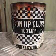 Ton Up Club Tazza MOTORE OLIO CAN REGALO Carrozze MECCANICO 313ml tè e caffè /