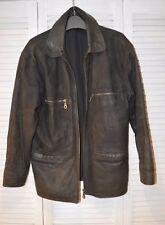 POLO Vintage Motorradjacke Bikerjacke Rocker Lederjacke Gr.M m.Protektorentasche