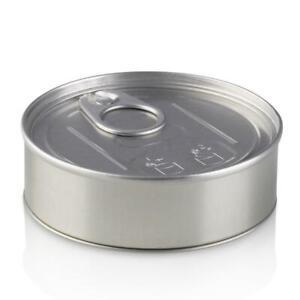 x10 Cali Press it in Tuna Tins Self Seal Ring Pull Tin Can 100ml 3.5g  FREE POST