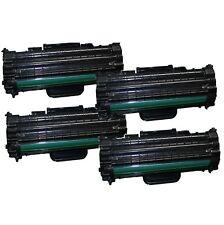 4x tóner para Samsung ml-1610 ml1610r ml2010 p r ml1615 ml1620 scx4521 f dell 1100