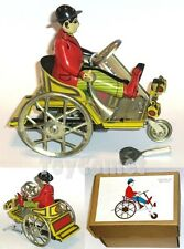 A-13 Chaplin on a Tricycle Retro Clockwork Wind Up Tin Toy