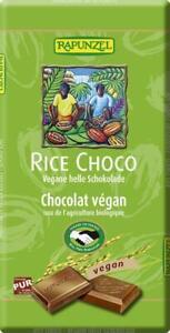 KS Rapunzel Rice Milk Vegane Helle Schokolade HiH bio vegan 100 g