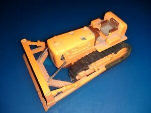 Shinsei Mini Power Bulldozer No 13 Orange - Japan