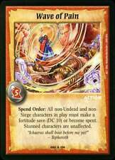 Warlord CCG - Warlord Saga of the Storm: Wave of Pain  (Rare Action BET )