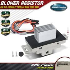 HVAC Blower Motor Resistor for Chevy Silverado Sierra 1500 2500 Escalade Yukon