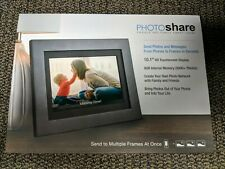 """Brand New SimplySmart Home 10"""" FHD PhotoShare Friends Family Smart Photo Frame"""