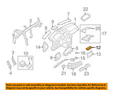 MERCEDES OEM 10-11 C300 Instrument Panel Dash-Stiffener 2046160168