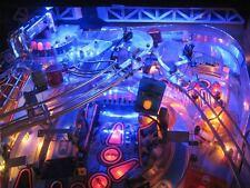 Funhouse, fishtales, Shadow, Démolition Man Flipper jeu Light Mod