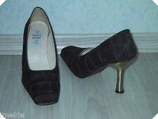 High Heel Pumps NEU Gr. 36 in schwarz & golden sehr edel ansehen lohnt