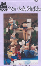 """""""Kitty Collection""""  Dolls #110 Pum Creek Collectibles Pattern"""