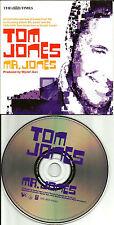 TOM JONES The Times7TRX PROMO UK CD Single w/ RARE LIVE TRX & VIDEO & MEDLEY