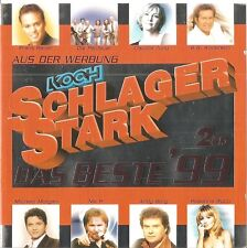 SCHLAGERSTARK - DAS BESTE '99 / VARIOIUS ARTISTS / 2 CD-SET / NEUWERTIG