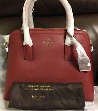 NWT KATE SPADE NEW YORK Cameron Street Margot  Handbag Purse $348 Train Car Red