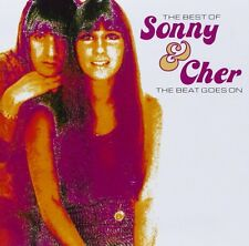 Sonny & Cher Best Of-The Beat Goes On CD NEW SEALED I Got You Babe/Baby Don't Go