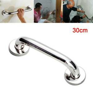 Stainless Steel Bathroom Disability Grab Handle Hand Rail 30cm Support Bar HK-H