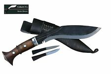 "10"" black,(Rustfree) panawal angkhola gurkha,kukris,working knives,khukuri GK&Co"