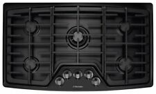 Electrolux EW36GC55PB 36 Inch Gas Cooktop with 5 Sealed Burners, black