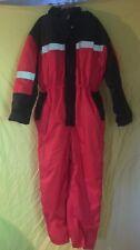 Fristads Full Body Snow Suit Visibility Size XL SUIT Red/Black