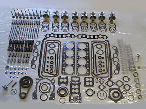 MOST COMPLETE Deluxe Engine Rebuild Kit 56 DeSoto 330 HEMI V8 1956