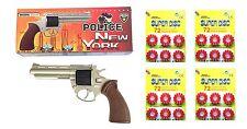 Revolver metálico Policía New York con 288 fulminantes en aros de 12 tiros