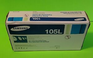 Samsung MLT-D105L Black Toner Cartridge  Genuine Sealed Box
