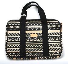 "Greene + Gray Canvas MacBook Pro 13"" w/Retina Sleeve Carrying Case Black Stripe"