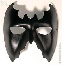 Leather Look Bat Eye Mask Batman Halloween Fancy Dress