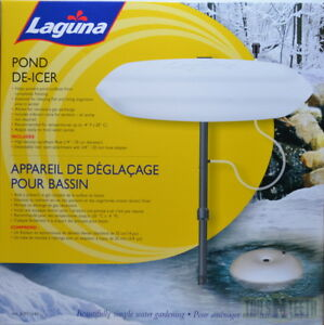 "Laguna Pond De-Icer PT-1645 - 14"" Diameter Styrofoam Surface Agitator"