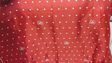 Love, White Hearts On Red - Vintage Hallmark Scarf - Made In Japan