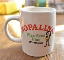 Pre-Owned Nopalina Flax Seed Plus Advertising Coffee Mug Cup