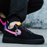 Nike Air Force 1 Low '07 LV8 ACG Black Sneakers Men's Lifestyle Comfy Shoes