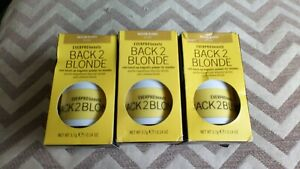 3 x everpro beauty back 2 blonde root touch up powder  blondes - medium blonde