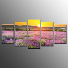 Framed Flower Canvas Picture Wall Art Painting Print for Living Room -4pcs