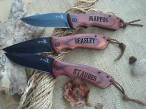Personalized Knife, Engraved Knife, Groomsman Gift, Best Man, Custom Gift 002