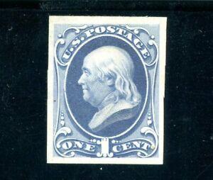 USAstamps Unused VF US 1870 Franklin Proof on White Paper Scott 145