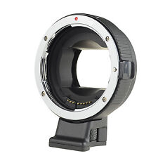 Black Electronic Auto Focus Adapter Canon EOS EF-S Lens to Sony NEX A6000 A7
