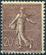 FRANCE SEMEUSE N°131 NEUF * AVEC CHARNIÈRE COTE 77€