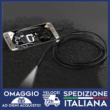 ENDOSCOPIO per cellulari pc IMPERMEABILE 6 LED USB 1 MT PER ANDROID E WINDOWS