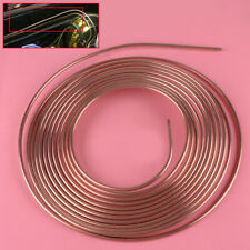 "BRAKE PIPE COPPER LINE 3/16"" 25ft + MALE/FEMALE/2 WAY 16pc TUBING JOINT KIT"