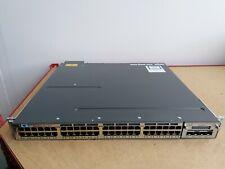 CISCO WS-C3750X-48PF-L SWITCH WITH C3KX-NM-10G