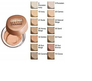 Maybelline Dream Matte Mousse Foundation - Choose Colour