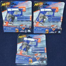 NERF N-Strike Jolt Gun darts New NIB Sealed Lot of 3 stocking stuffers
